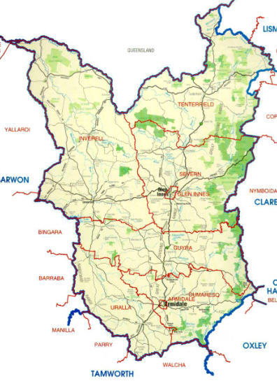 Northern Tablelands 1 Towns and Institutions  Have Gravity Will